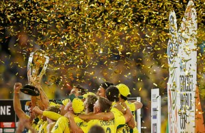 Australia win the Cricket World Cup